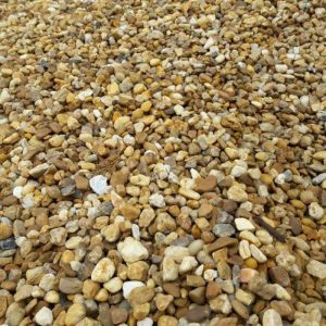 Pea gravel southern landscaping materials for Shell driveway calculator