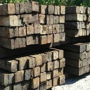 Railroad Ties - Southern Landscaping Materials