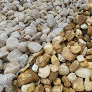 White and Brown River Rock - Southern Landscaping Materials e1c870ed5