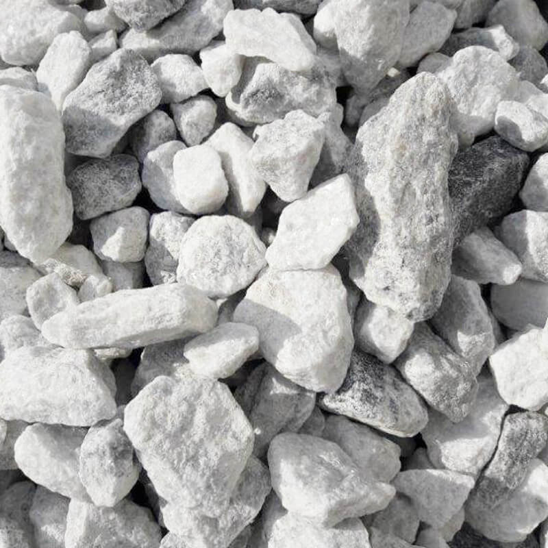 White Marble Chips Southern Landscaping Materials