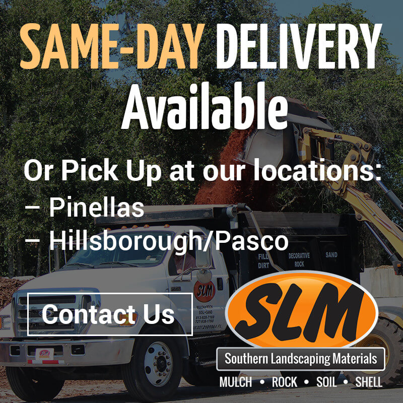 Same day delivery mulch rock oil shell